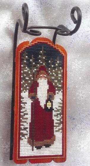 Twilight Santa - Cross Stitch Pattern