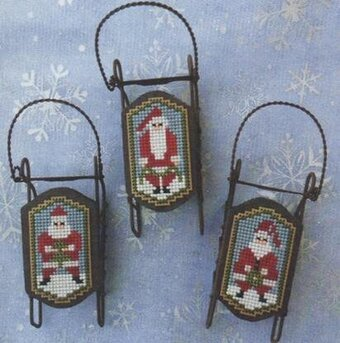 Santa Folk - Cross Stitch Pattern