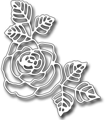 Frantic Stamper Dies - Beautiful Rose