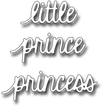 Frantic Stamper Dies - Little Prince Princess