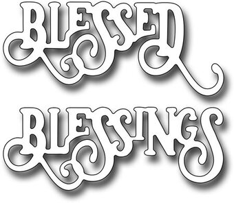 Frantic Stamper Dies - Elegant Blessings