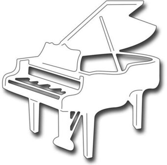 Baby Grand Piano - Frantic Stamper Craft Dies