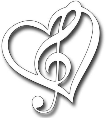 Frantic Stamper Dies - Musical Heart
