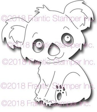 Frantic Stamper Dies - Kiki the Koala