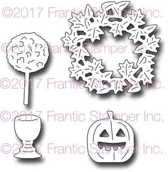 Frantic Stamper Halloween Dies - Autumn Door Accents