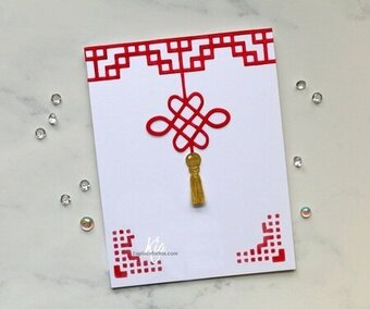 Chinese Luck Knot - Frantic Stamper Craft Die