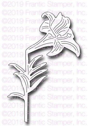 Botanical Easter Lily - Craft Die