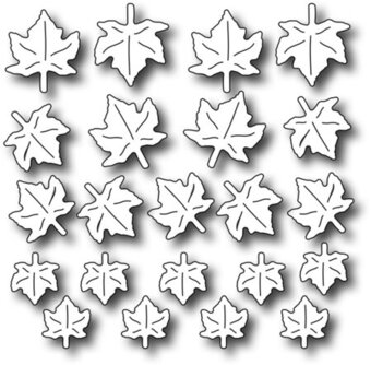Petite Maple Leaves - Frantic Stamper Craft Dies