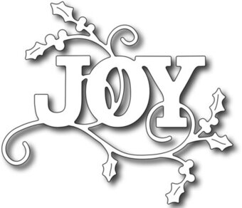 Holly Joy Christmas - Frantic Stamper Craft Dies