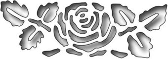 Reverse Cut Rose Flower - Frantic Stamper Craft Dies