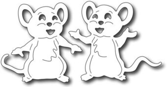 Frantic Stamper Dies - Cute Mice (set of 2 dies)