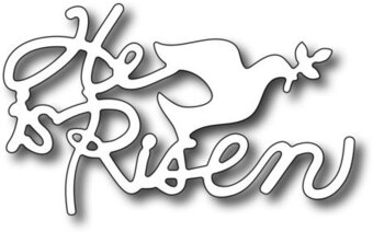 Small He is Risen Easter - Frantic Stamper Craft Dies