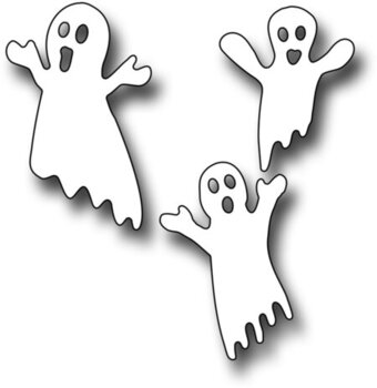 Frantic Stamper Halloween Dies - Ghost Trio