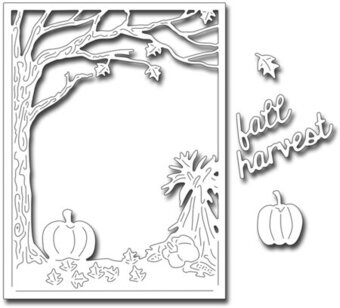 Frantic Stamper Dies - Fall Harvest Panel