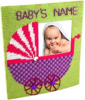 The Nanny Photo Frame - Framous Plastic Canvas Kit