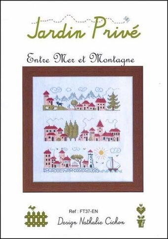 Entre Mer Et Montagne - Cross Stitch Pattern
