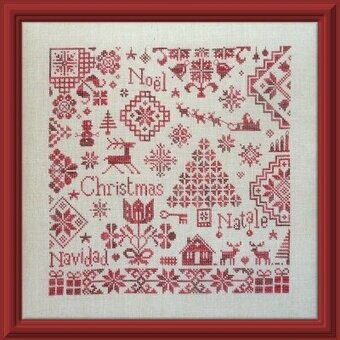 Quaker De Noel - Cross Stitch Pattern
