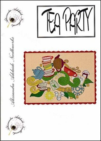 Tea Party - Cross Stitch Pattern