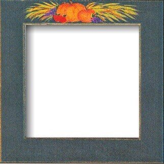 Harvest Green Folk Art Frame