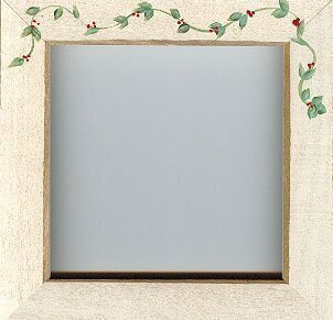 Antique White Berry Vine Frame