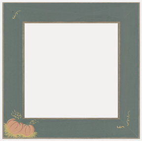 Pumpkin Patch Matte Green Frame