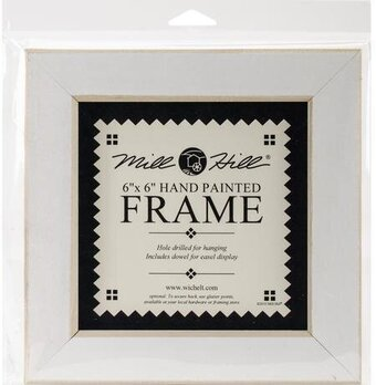 6 x 6 Antique White Frame