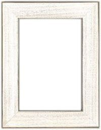 5 x 7 Antique White Frame
