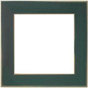 6 x 6 matte green frame