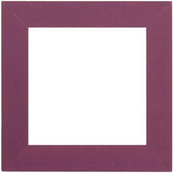 6 x 6 Matte Purple Frame