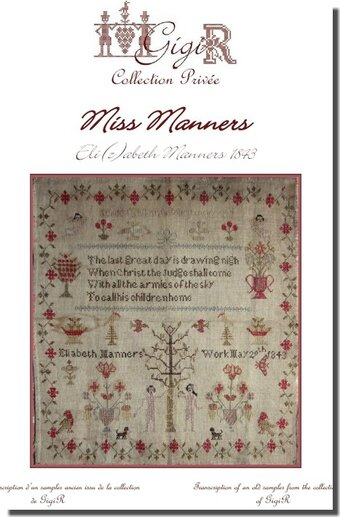 Elizabeth Manners 1843 (Miss Manners)