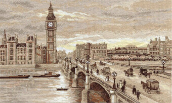 Westminster Bridge London - Golden Series Cross Stitch Kit