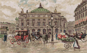 Grand Opera Paris - Golden Series Cross Stitch Kit