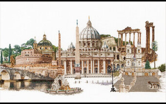 Rome - Cross Stitch Kit