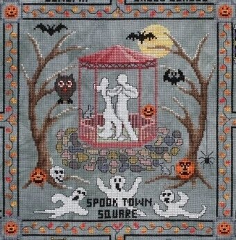 Spook Town Square Part One - Cross Stitch Pattern