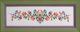 Hungarian Folk Art No.2 - Cross Stitch Pattern
