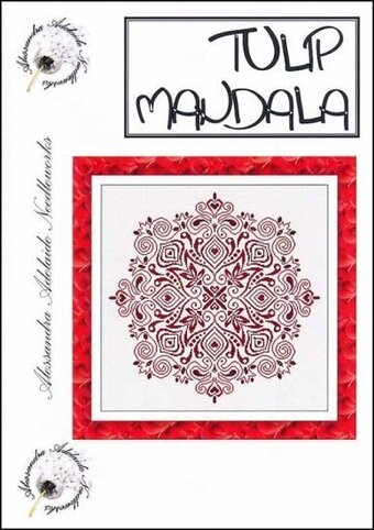 Tulip Mandala - Cross Stitch Pattern