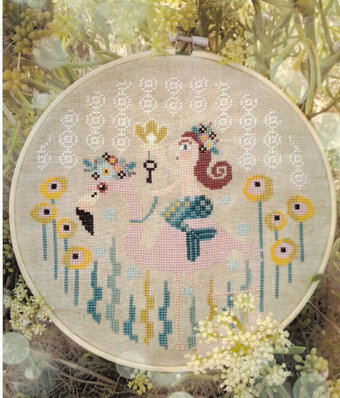 Pearl From the Sea - Cross Stitch Pattern