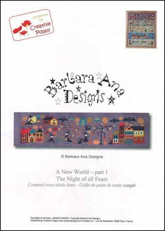 A New World - Part One The Night Of All Fears - Cross Stitch