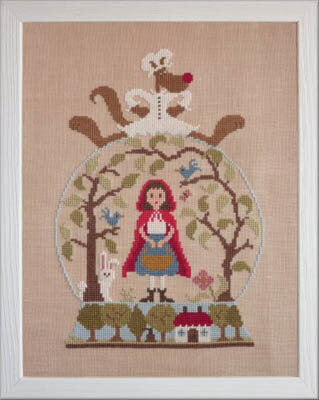 Le Petit Chaperon Rouge - Cross Stitch Pattern