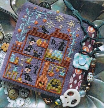 Witch House? - Cross Stitch Pattern
