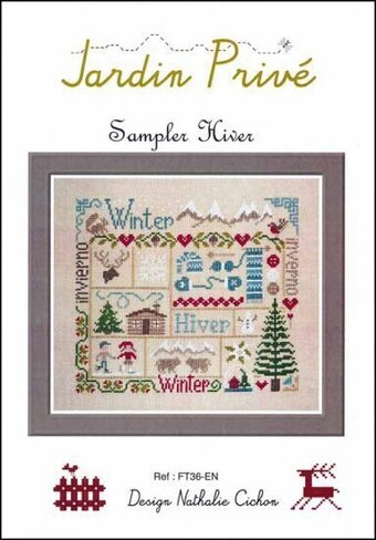 Sampler Hiver - Cross Stitch Pattern
