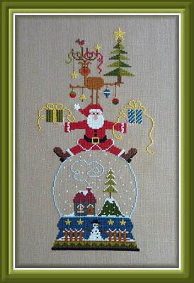 Vivement Noel - Cross Stitch Pattern