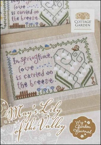 May's Lily of the Valley - My Garden Journal - Cross Stitch