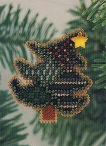 Tipsy Tree - Beaded Cross Stitch Kit