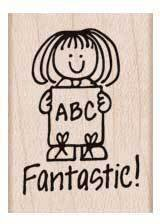 Fantastic - Rubber Stamp