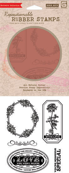 Comes From the Heart - Cling Rubber Stamp
