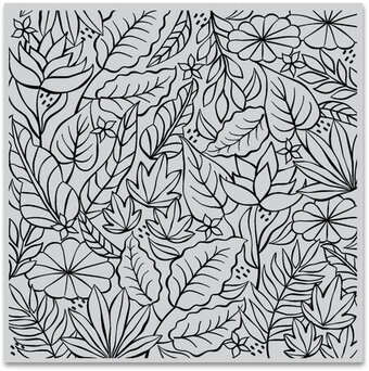 Jungle Bold Prints - Background Cling Stamp