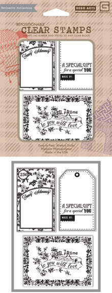 Lucille Fancy Schmancy - Clear Stamp