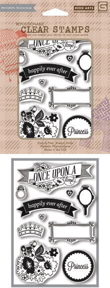 Once Upon A - Clear Stamp