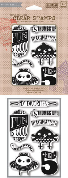 High 5 - Clear Stamp